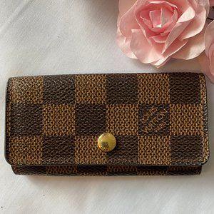 Louis Vuitton Damier Multicles 4 Ring Key Case